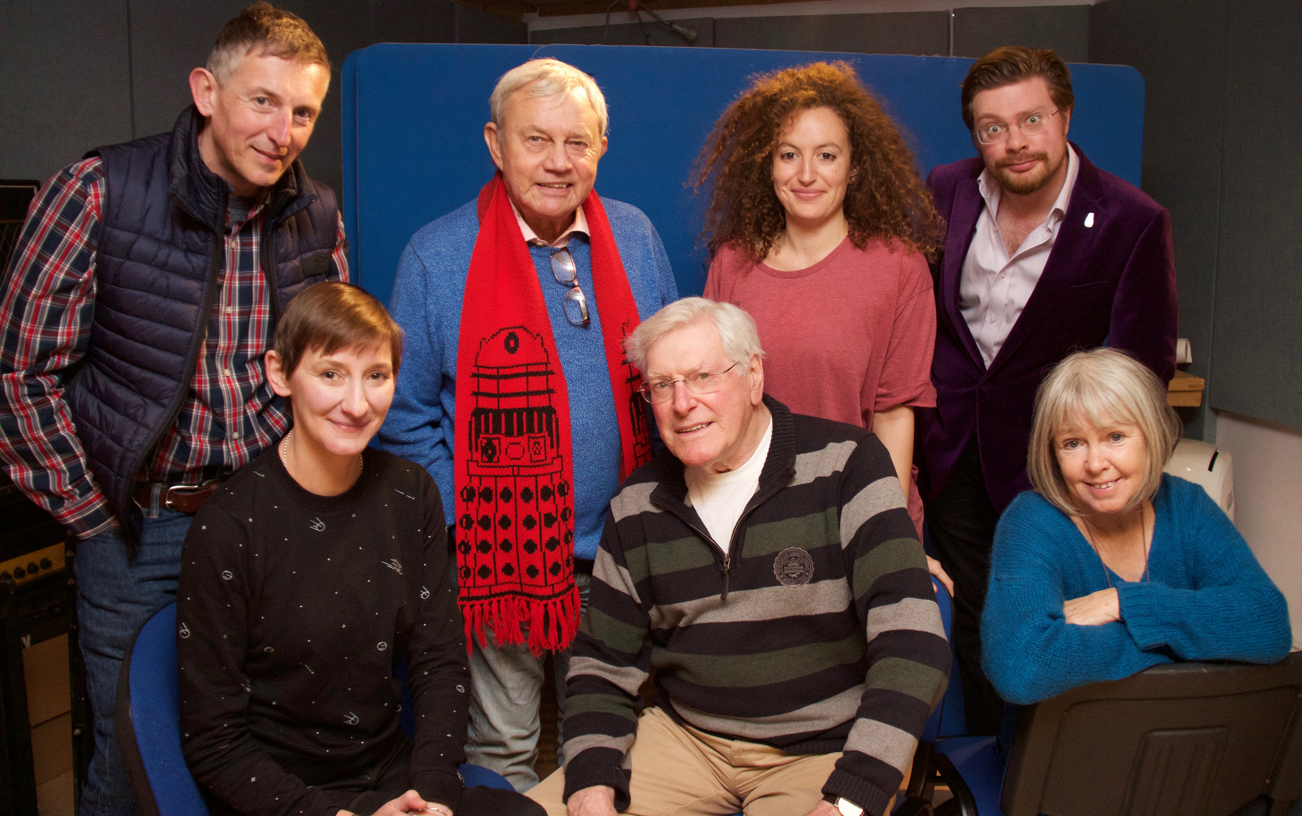 Cast and crew of Daughter of the Gods (Credit: Big Finish)