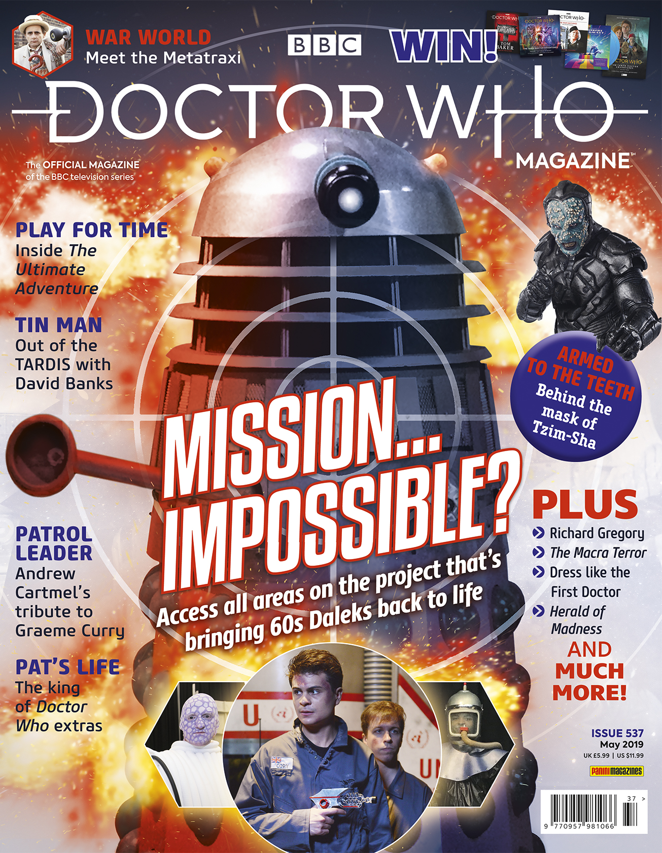 Doctor Who Magazine: Issue 537 (Credit: Panini)