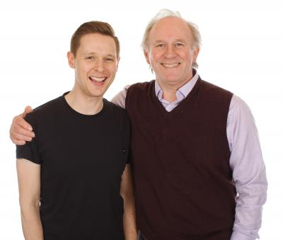 Samuel Barnett, Peter Davison (Credit: Big Finish)