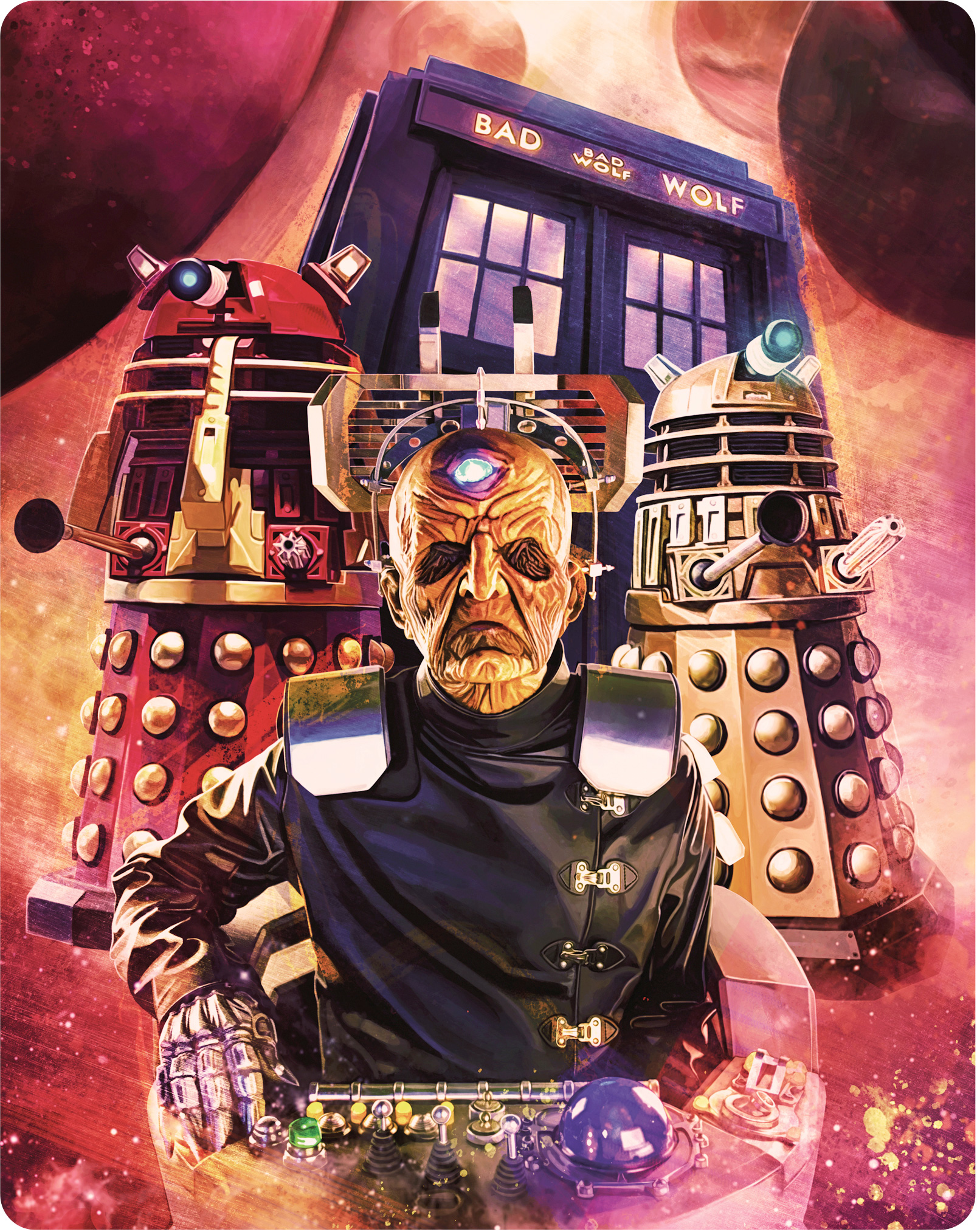 Doctor Who: Series 4 Steelbook (back cover) (Credit: BBC Studios)