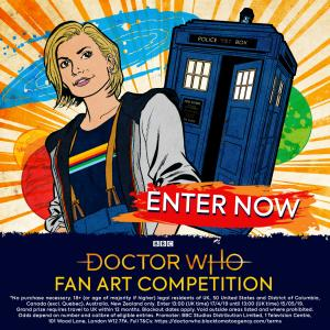 Doctor Who Fan Art Competition 2019 (Credit: BBC Studios)