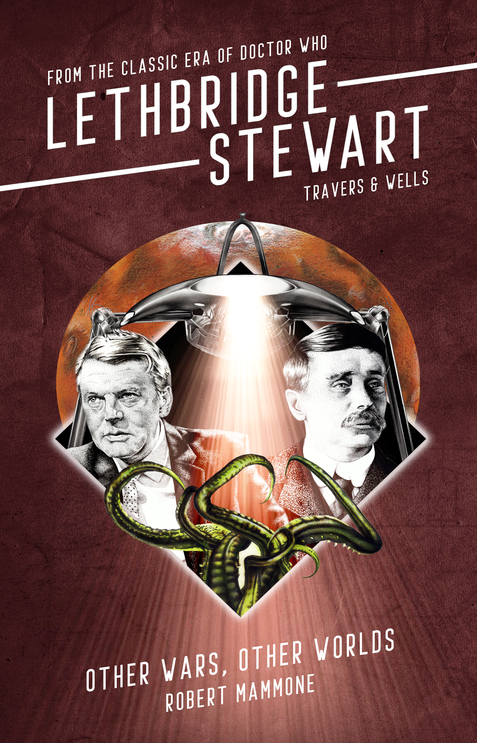 Lethbridge-Stewart: Travers and Wells: Other Wars, Other Worlds (Credit: Candy Jar Books)