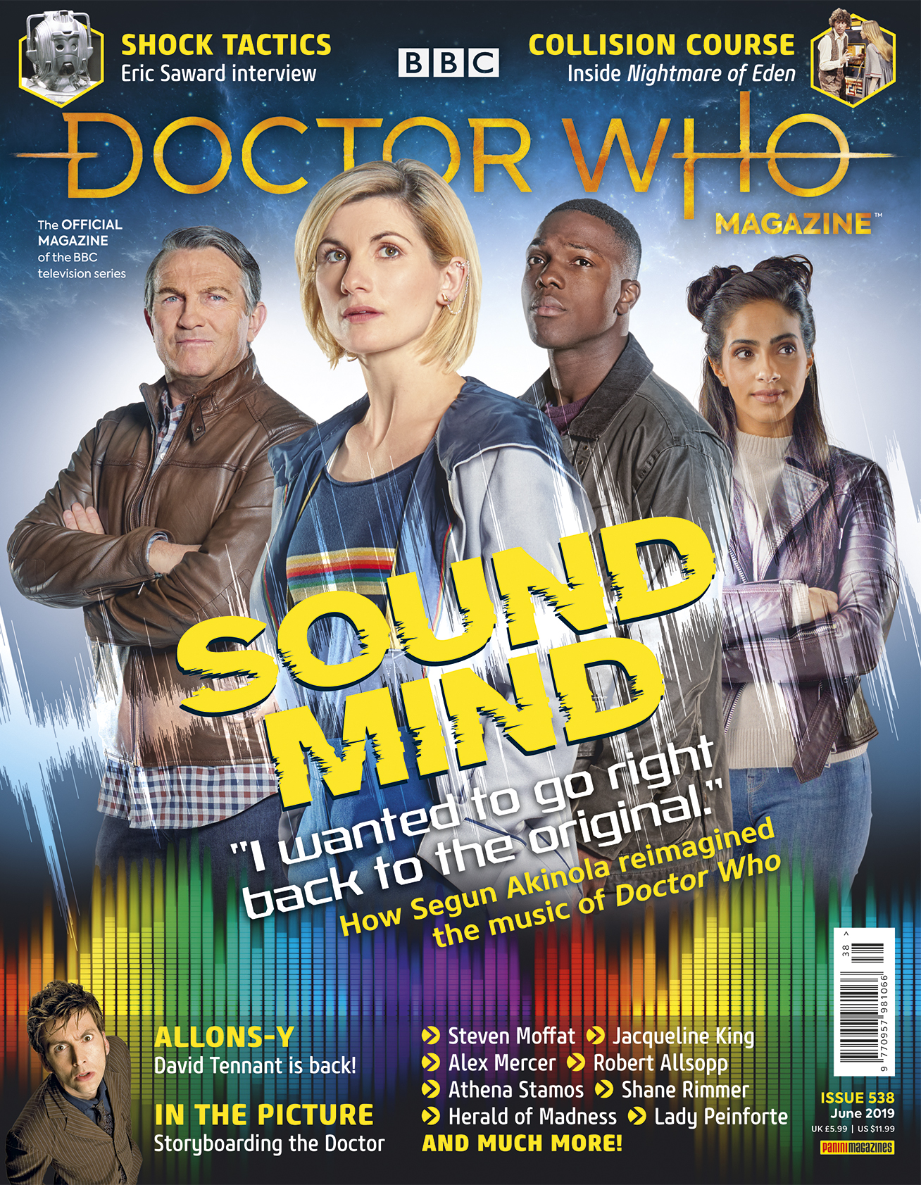 Doctor Who Magazine: Issue 538 (Credit: Panini)