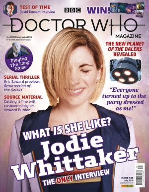 Doctor Who Magazine - Issue 539 (Credit: Panini)