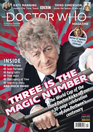 Doctor Who Magazine - Issue 540 (Credit: Panini)