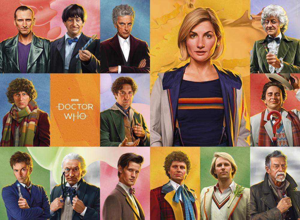 Thirteen Doctors (Credit: BBC)