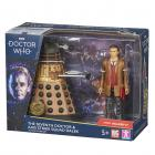 Doctor Who The Seventh Doctor and Axis Strike Squad Dalek Action Figure Set (Credit: Character Options )