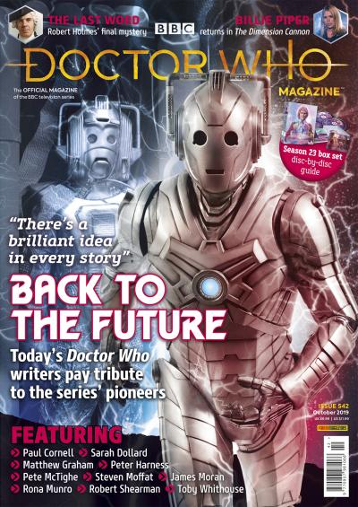 Doctor Who Magazine issue 542 (Credit: Panini)