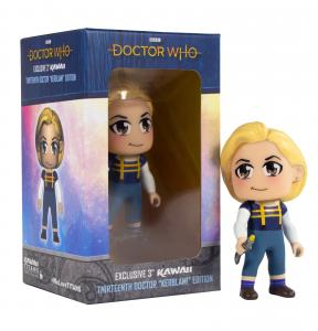 Doctor Who Vinyl Figure - Kerblam!(Titan, NYCC 2019 exclusive) (Credit: Titan)