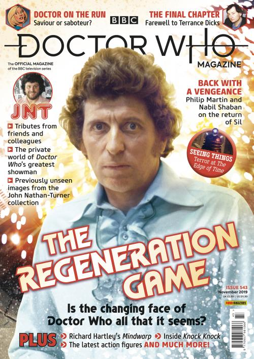 Doctor Who Magazine: Issue 543 (Credit: Panini)