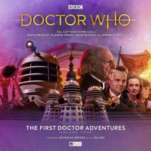 First Doctor Adventures volume four (Credit: Big Finish)