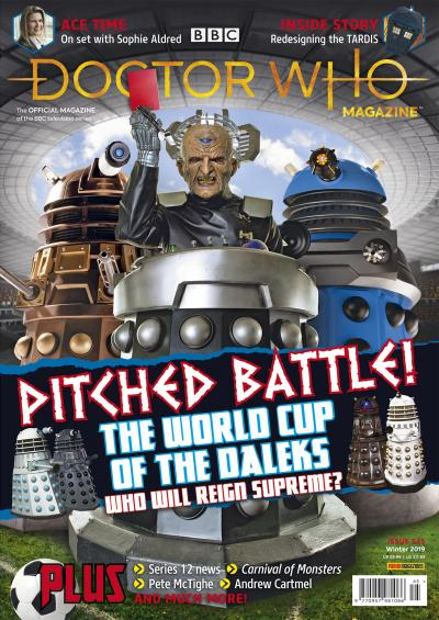 Doctor Who Magazine 545 (Credit: Panini)