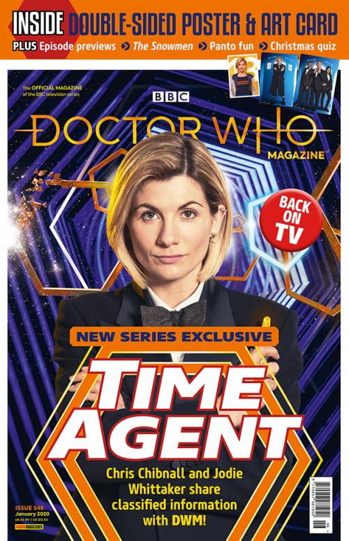 Doctor Who Magazine: Issue 546 (Credit: Panini)