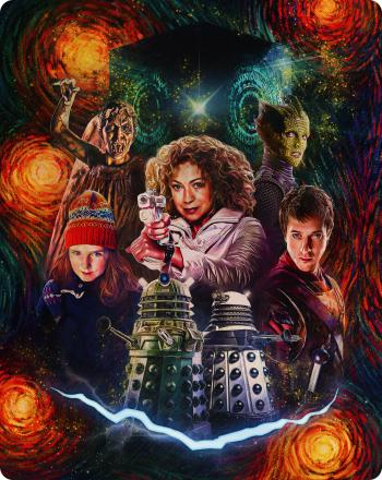 Doctor Who Collection: Series 5 Steelbook (back cover) (Credit: BBC Studios)