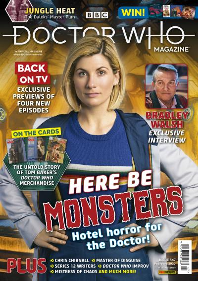 Doctor Who Magazine: Issue 547 (Credit: Panini)