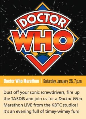 Doctor Who Marathon (The Three Doctors/Carnival of Monsters
