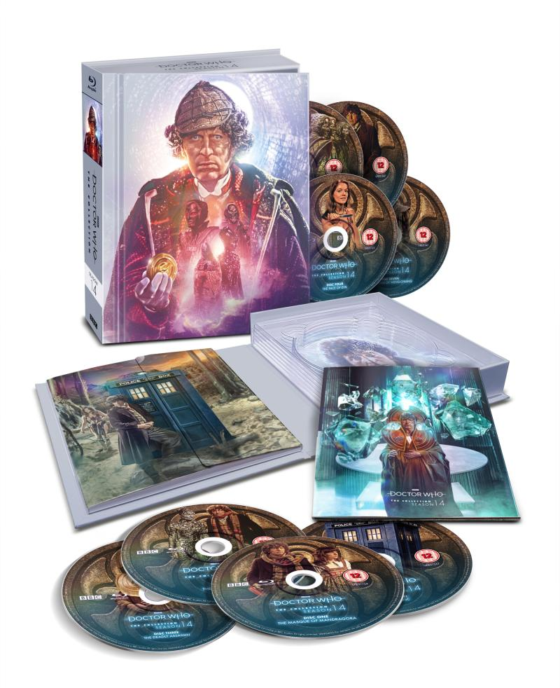 Doctor Who: The Collection - Season 14 (pack shot) (Credit: BBC Studios)