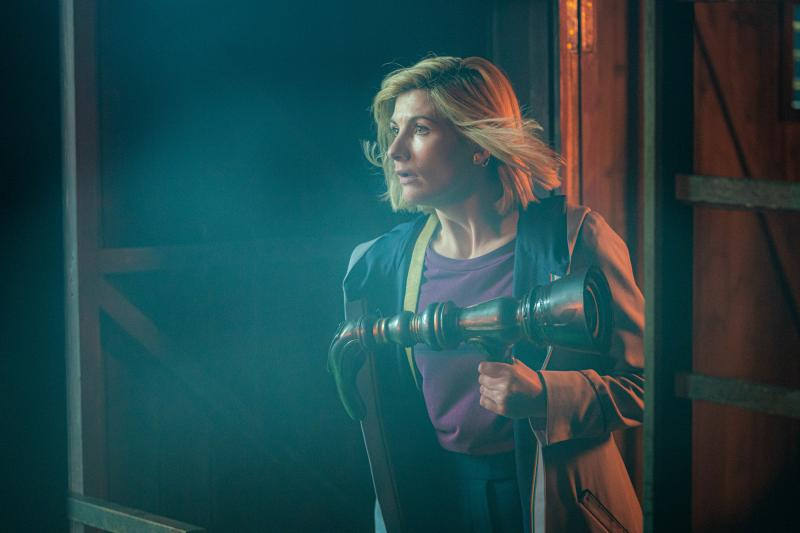 Nikola Tesla's Night of Terror: The Doctor (Jodie Whittaker) (Credit: BBC Studios (Ben Blackall))