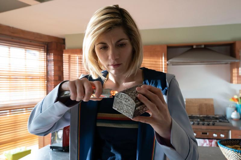 Fugitive of the Judoon: The Doctor (Jodie Whittaker) (Credit: BBC Studios (Ben Blackall ))