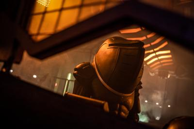 Fugitive of the Judoon: Judoon Captain (Credit: BBC Studios (James Pardon))