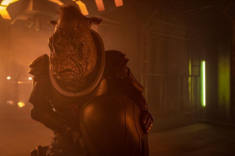 Fugitive of the Judoon: Judoon Captain (Credit: BBC Studios (James Pardon))