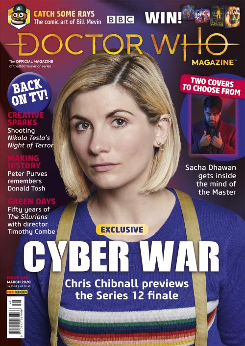 Doctor Who Magazine Issue 548 (Credit: Panini)
