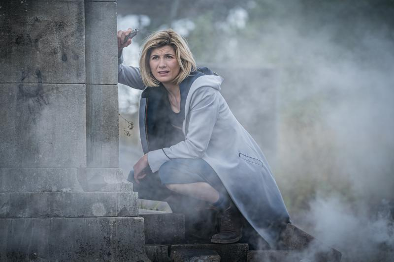 Ascension of the Cybermen: The Doctor (Jodie Whittaker) (Credit: BBC Studios (Ben Blackall ))