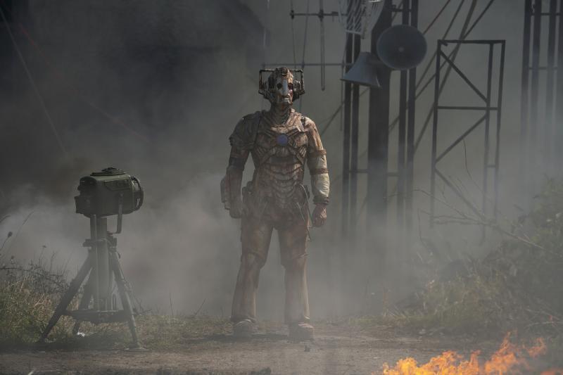 Ascension of the Cybermen: Ashad (Patrick O'kane) (Credit: BBC Studios (Ben Blackall ))