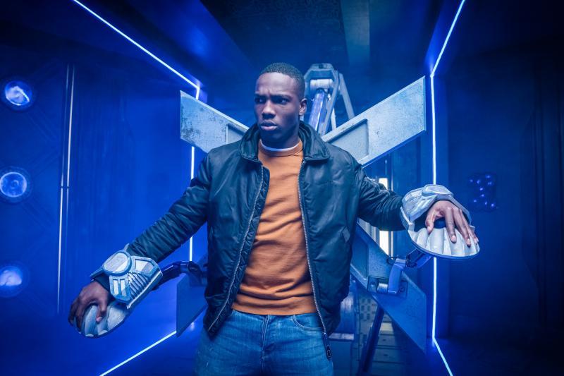 Ascension of the Cybermen: Ryan (Tosin Cole) (Credit: BBC Studios (Ben Blackall ))