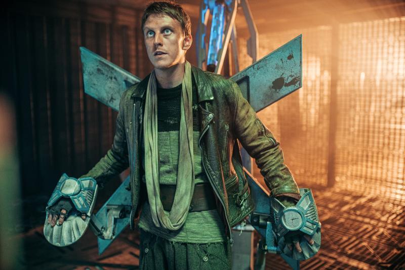 Ascension of the Cybermen: Yedlarmi (Alex Austin) (Credit: BBC Studios (James Pardon))