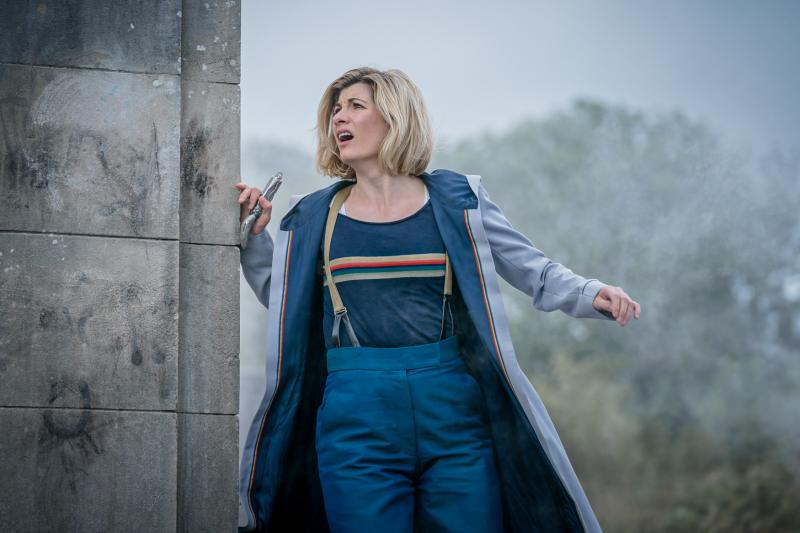 Ascension of the Cybermen: The Doctor (Jodie Whittaker) (Credit: BBC Studios (Ben Blackall))