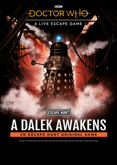 A Dalek Awakens (Credit: Escape Hunt / BBC Studios)