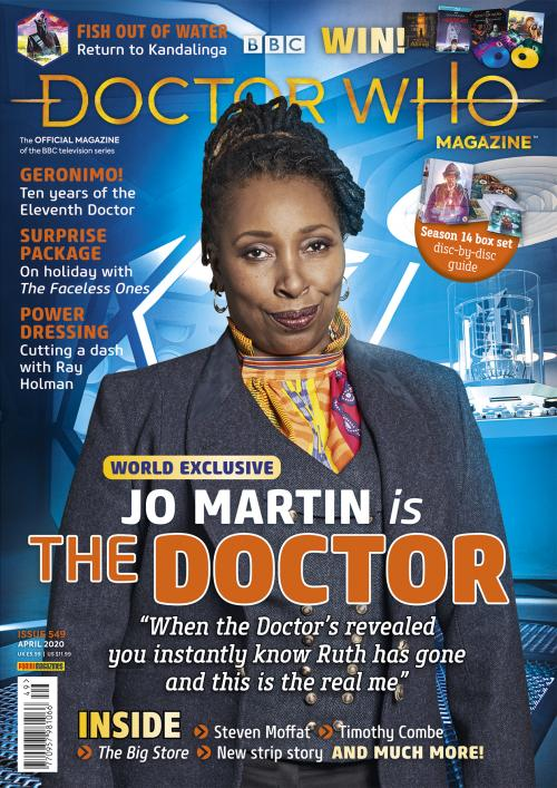 Doctor Who Magazine: Issue 549 (Credit: Panini)