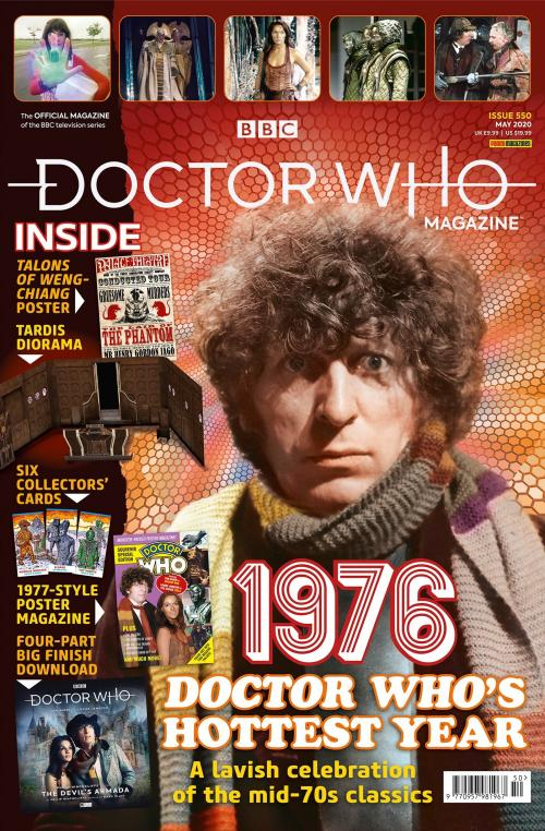 Doctor Who Magazine: 550 (Credit: Panini)