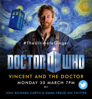 #TheUltimateGinger Vincent and The Doctor watchathon 30 Mar 2020 (Credit: Emily Cook/Stuart Crouch)