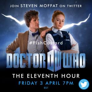 #FishCustard The Eleventh Hour watchathon 3 Apr 2020 (Credit: DoctorWhoLockdown/Emily Cook)