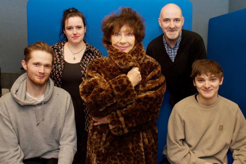 Susan's War - Tom Mahy, Becky Wright, Carole Ann Ford, Nicholas Briggs. Louis Davison (Credit: Big Finish)