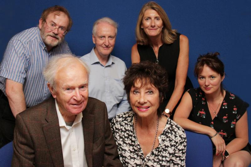Susan's War - William Russell, Ian Brooked, Hugh Fraser, Claire Vousden, Carole Ann Ford, Beth Chalmers (Credit: Big Finish)
