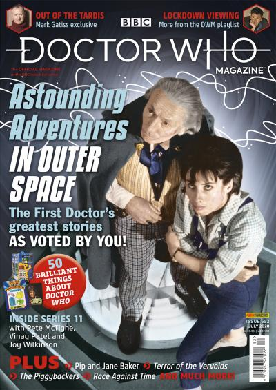 Doctor Who Magazine: Issue 552 (Credit: Panini)