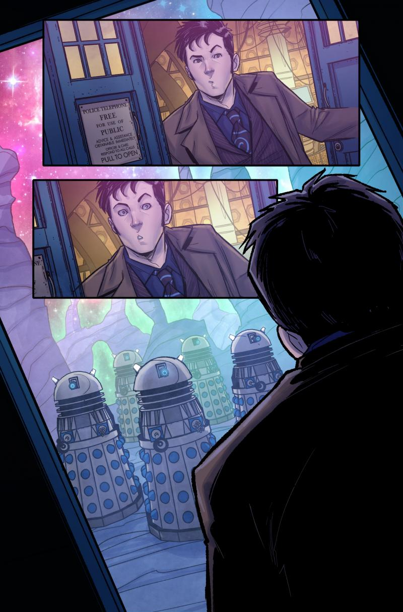 Time Lord Victorious #1 Interior A (Credit: Titan)
