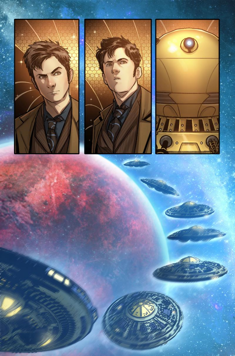 Time Lord Victorious #1 Interior B (Credit: Titan)