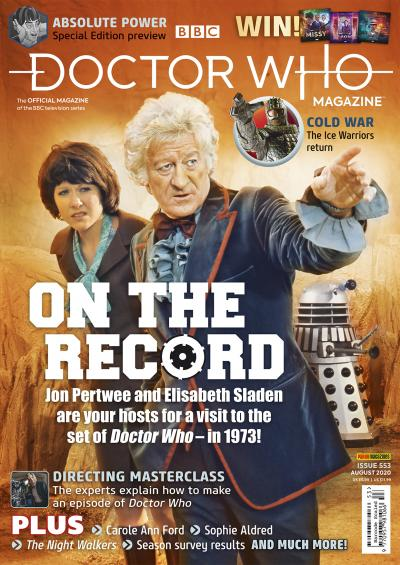 Doctor Who Magazine - Issue 553 (Credit: Panini)