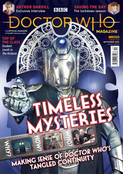 Doctor Who Magazine: Issue 554 (Credit: Panini)