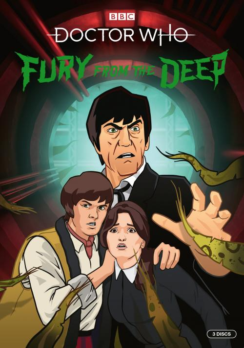 Fury From The Deep - Artwork Fury From The Deep (Credit: BBC Studios)