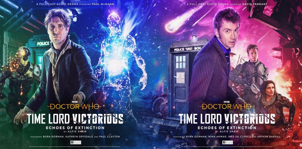 Time Lord Victorious - Echoes of Extinction (Credit: Big Finish)