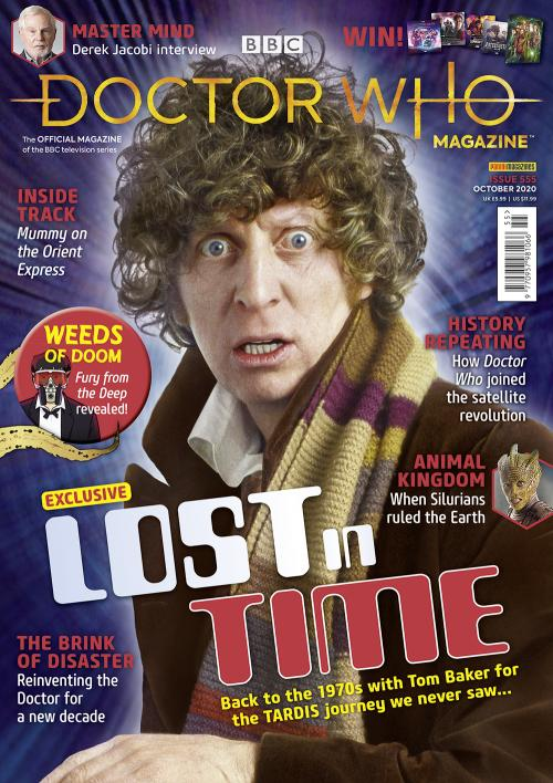 Doctor Who Magazine - Issue 555 (Credit: Panini)