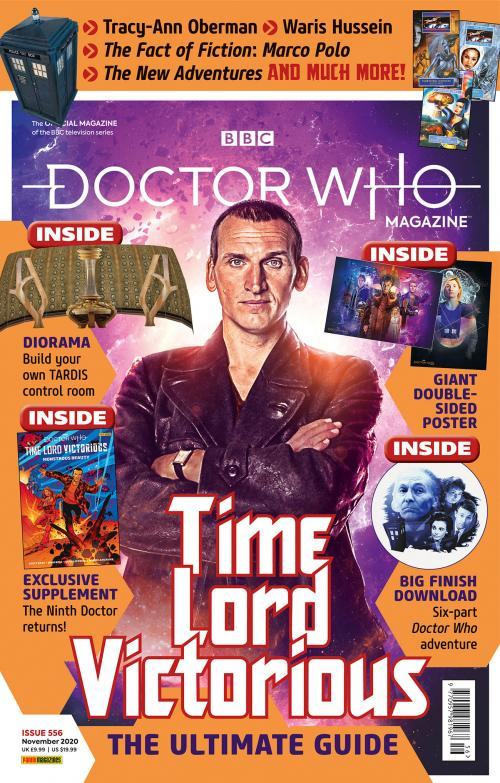 Doctor Who Magazine: Issue 556 (Credit: Panini)