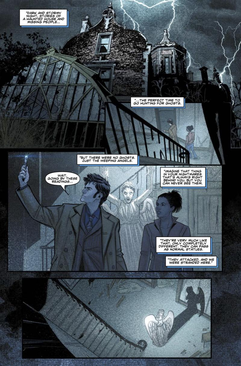 Doctor Who: A Tale of Two Time Lords - Page 3 (Credit: Titan )
