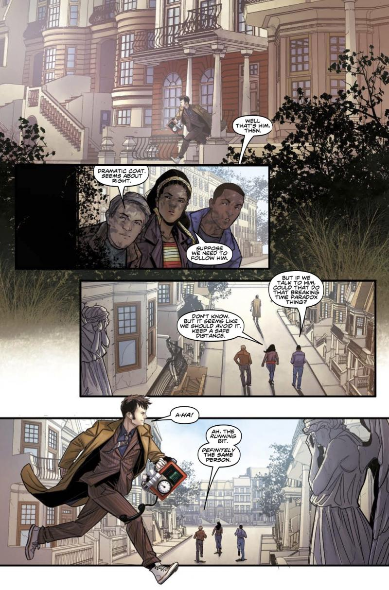 Doctor Who: A Tale of Two Time Lords - Page 6 (Credit: Titan )