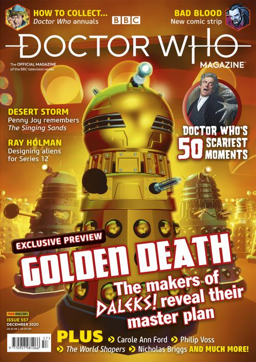 Doctor Who Magazine: Issue 557 (Credit: Panini)